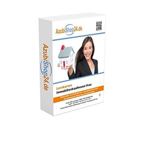 Immobilienkaumfann Prüfung / Immobilienkauffrau Prüfungsvorbereitung Lernkarten Immobilien Prüfung Lernkarten: Erfolgreiche Prüfungsvorbereitung auf die Abschlussprüfung