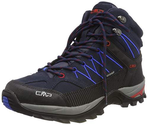 CMP - F.lli Campagnolo Herren Rigel Mid Trekking-& Wanderstiefel, Blau (B.Blue-Royal 10nc), 42 EU