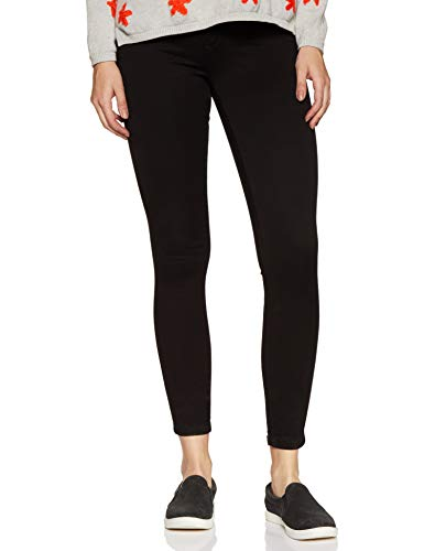 ONLY Damen Jeanshose Onlroyal High Sk Jeans Pim600 Noos ,Schwarz (Black) ,32/XL